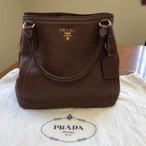 77914b302071 Women s Prada Vitello Daino Shoulder Bag on Poshmark